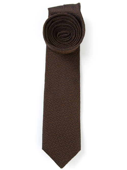 Textured Tie by Mr Start in Fight Club