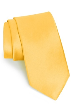 Solid Satin Silk Tie by Nordstrom in Unfriended
