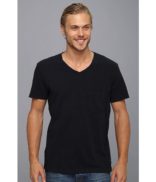 V-Neck Pocket T-Shirt by 7 For All Mankind in If I Stay