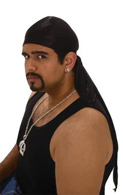 Hip Hop Adult Doo Rag by Forum Novelties Inc. in Brick Mansions