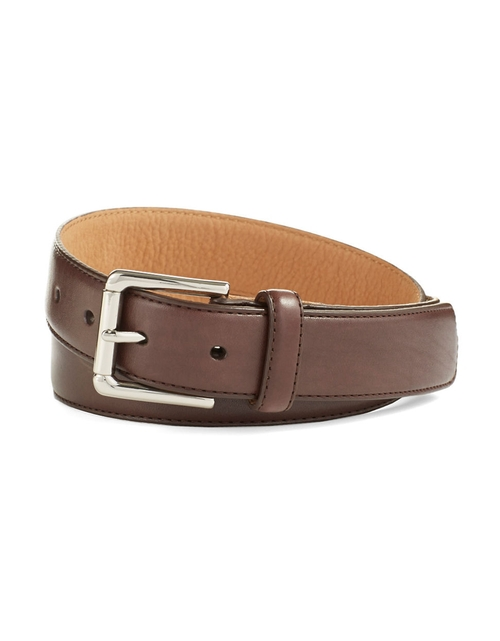 Colebrook Leather Belt by Cole Haan in The Big Bang Theory - Season 9 Episode 7