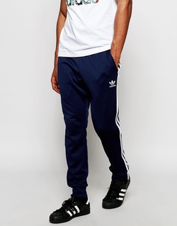 Superstar Cuffed Trackpants by Adidas Originals in She's The Man