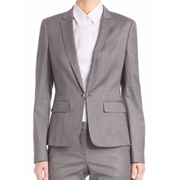 Blurred Focus Cuff Link Blazer by Boss in Suits