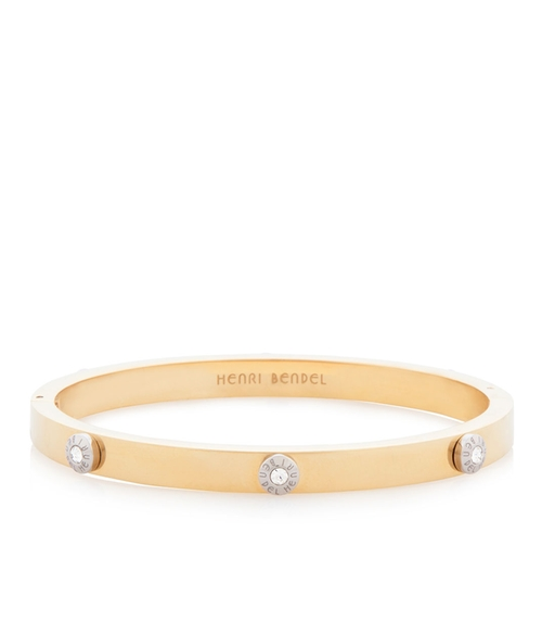 Metal Rivet Bangle by Miss Bendel in Empire - Season 2 Episode 1