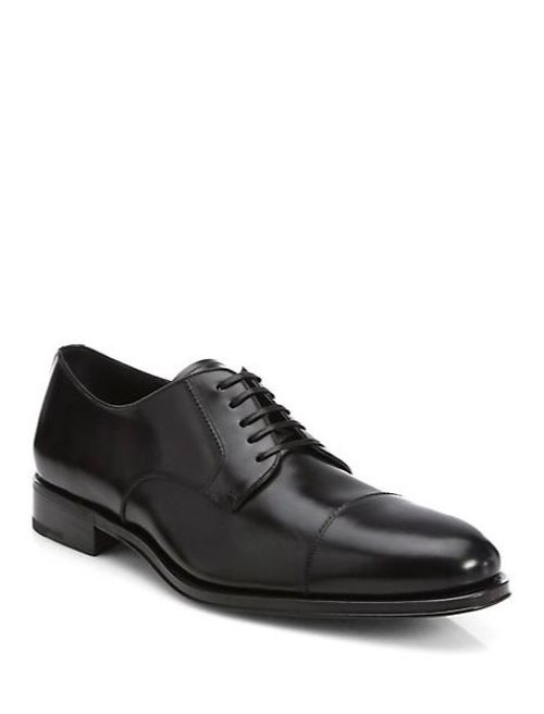 Rand Cap-Toe Oxfords Shoes by Salvatore Ferragamo in John Wick