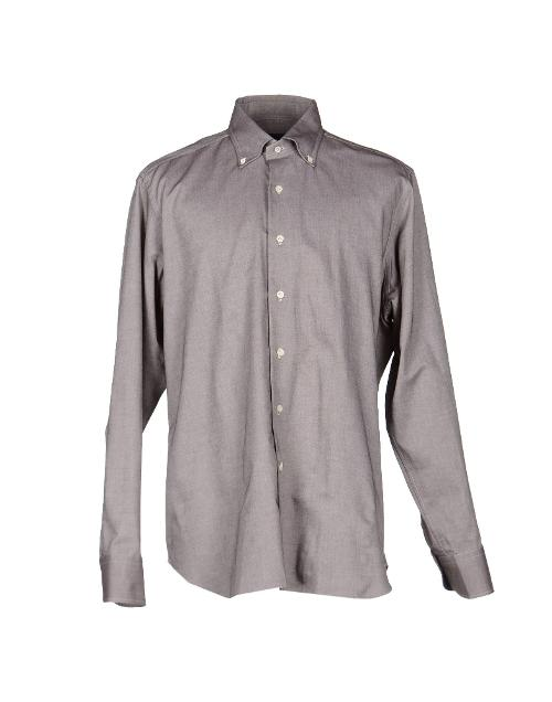 Long Sleeve Button Down Shirt by Mastai Ferretti in Neighbors