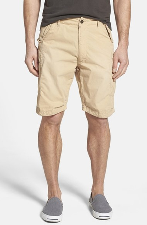 'Commando' Cargo Shorts by Relwen in Vacation