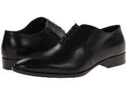Gosforth Leather Oxford Shoes by Ralph Lauren Collection in Spy