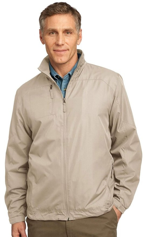 Full-Zip Wind Jacket by Port Authority in Everest