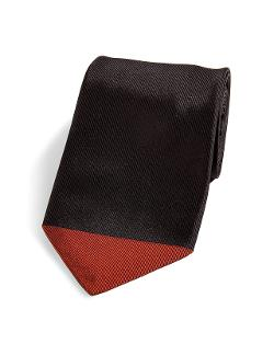 Silk Contrast Tip Blade Tie by Paul Smith Accessories in Yves Saint Laurent
