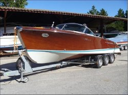 1695 Aquarama Power Boat by Riva in The Man from U.N.C.L.E.