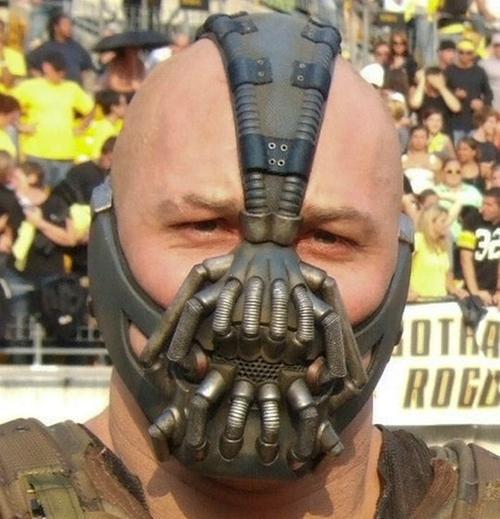 Custom Made Mask (Bane) by Lindy Hemming (Costume Designer) in The Dark Knight Rises