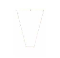 Bar Necklace by Eight By Gjenmi Jewelry in Billions
