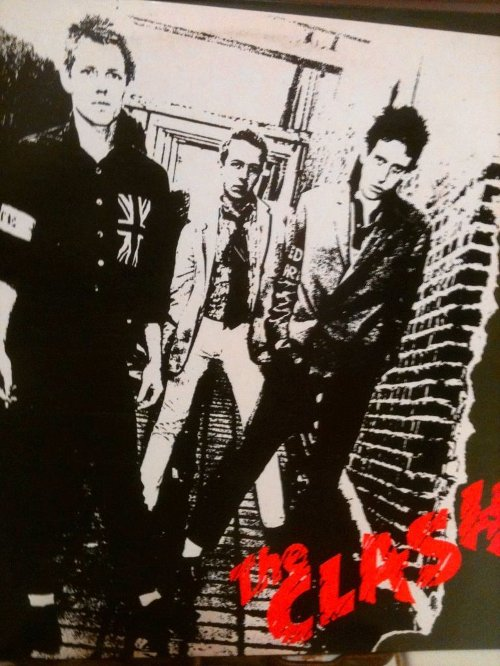 First Album Cover Poster by The Clash in If I Stay