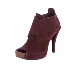 Chenoa Suede Booties by Pedro Garcia in Girls Trip