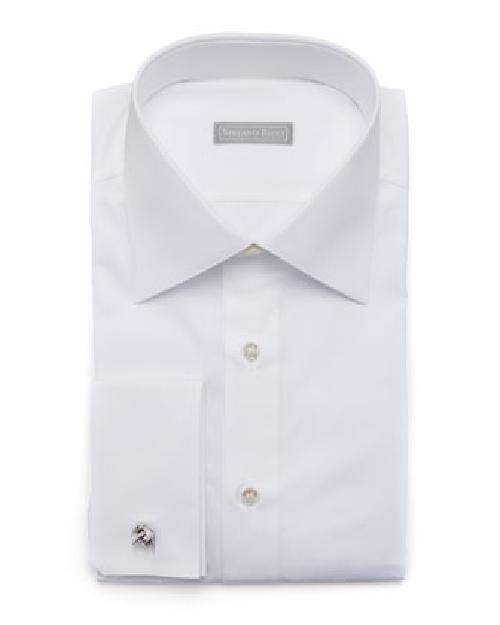 Basic French-Cuff Dress Shirt by Stefano Ricci in The Wolf of Wall Street