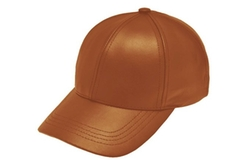 Genuine Cowhide Leather Baseball Cap by Emstate in Master of None