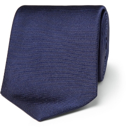 Ribbed Silk Tie by Turnbull & Asser in Man of Tai Chi