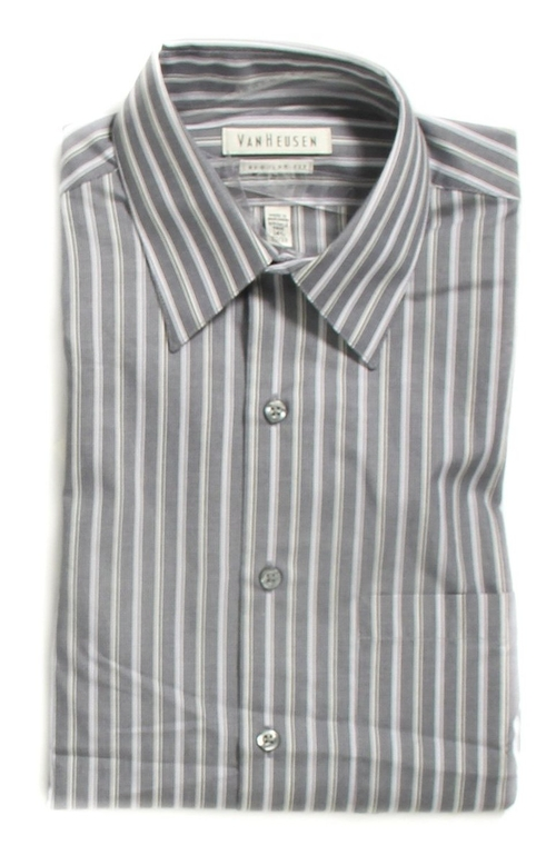 Wrinkle Free Dress Shirt by Van Heusen in Side Effects