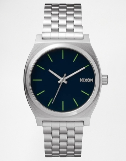 Time Teller Stainless Steel Watch by Nixon in The Hangover