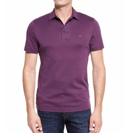 Sleek MK Polo Shirt by Michael Kors in Silicon Valley