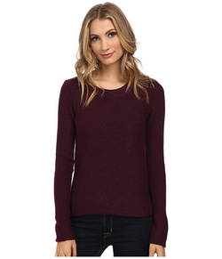 Long Sleeve Lurex Crew Neck Sweater by Lacoste in Fuller House