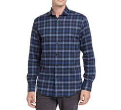 Shadow Plaid Sport Shirt by The Good Man Brand in Lethal Weapon