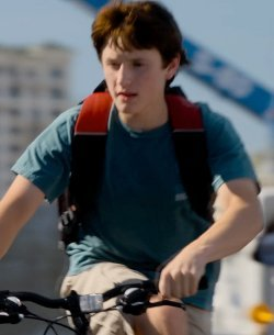 Custom Made Clearwater Research Team Shirt (Nathan Gamble) by Comfort Colors in Dolphin Tale 2
