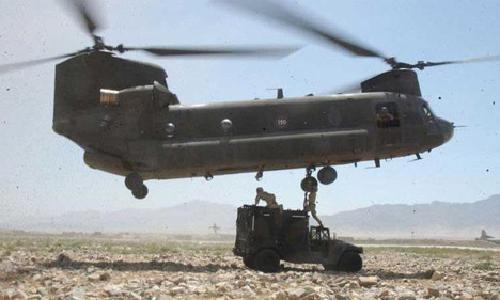 CH-47F Chinook by Boeing in Godzilla