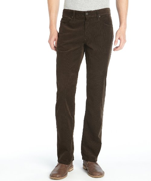 Corduroy 'Protégé' Pants by AG Adriano Goldschmied in While We're Young