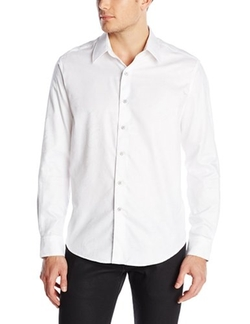 Men's Pyramid-Long Sleeve Button-Down Shirt by Robert Graham in She's The Man