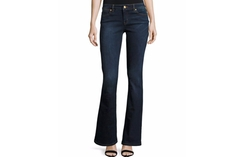 Boot-Cut Denim Jeans by Michael Michael Kors in Rosewood