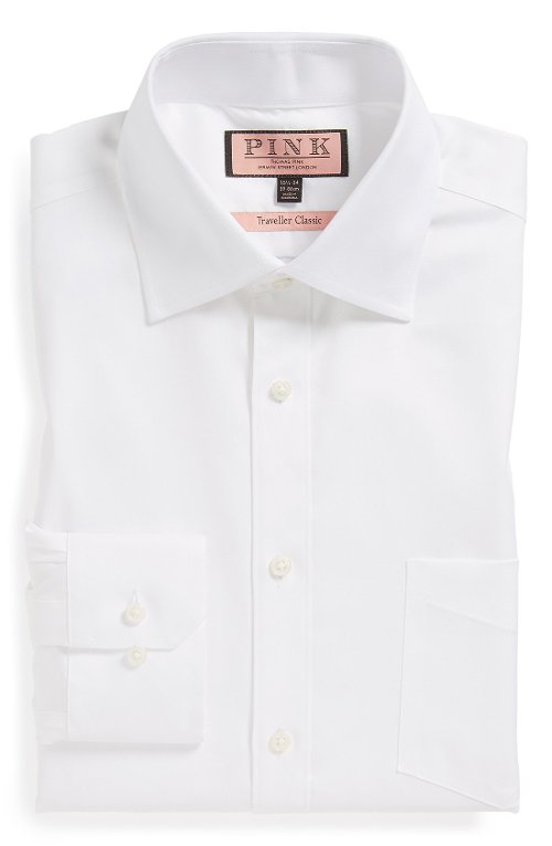 'Traveller' Classic Dress Shirt by Thomas Pink in Shutter Island