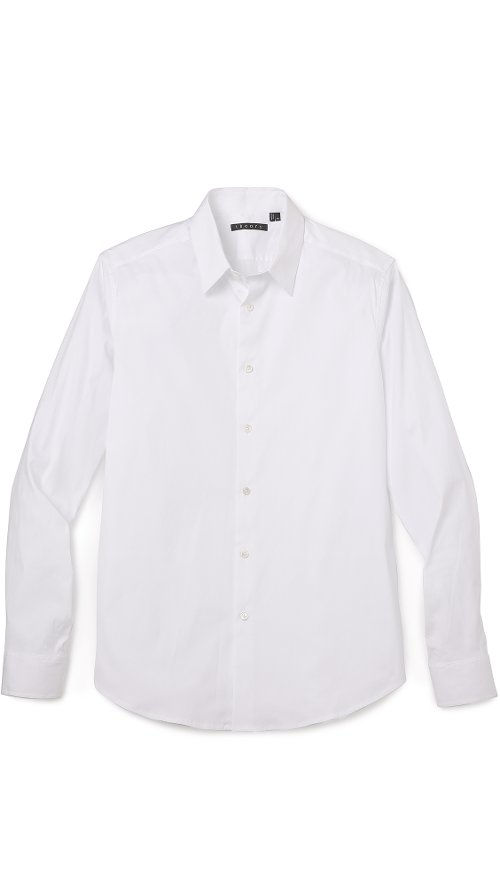 Sylvain Solid Dress Shirt by Theory in Avengers: Age of Ultron