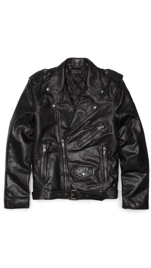 Leather Jacket 5 by BLK DNM in Yves Saint Laurent