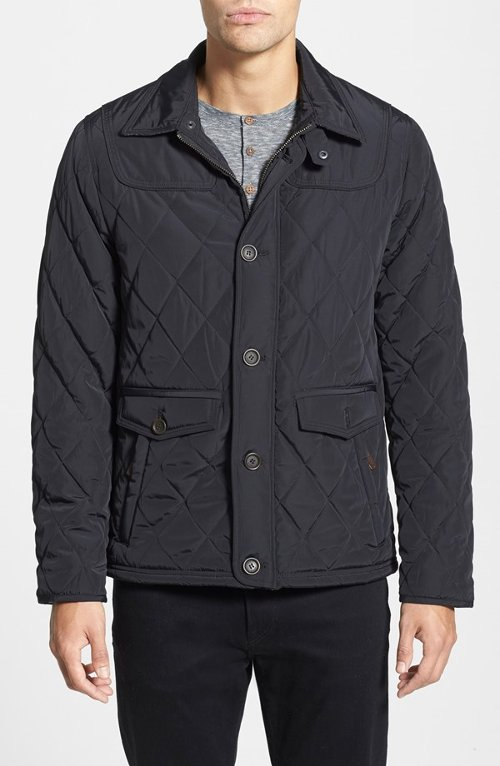 'Jarbin' Quilted Jacket by Ted Baker London in The Devil Wears Prada
