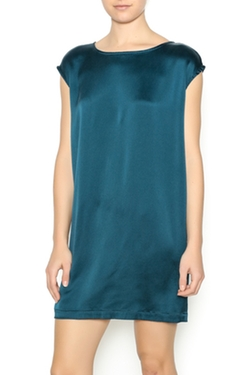 Washed Silk Crepe Tunic Dress by Nuthatch in New Girl