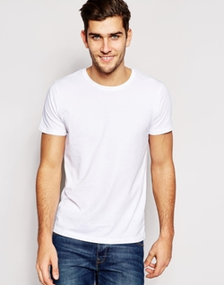 Crew Neck T-Shirt by Esprit in Regression