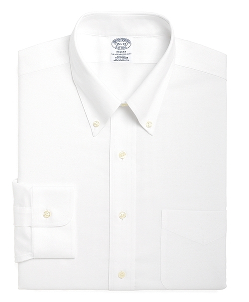 Button-Down Collar Dress Shirt by Brooks Brothers in Victor Frankenstein