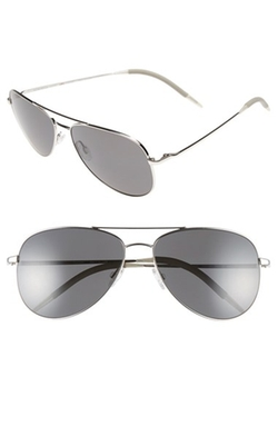 'Kannon' Polarized Aviator Sunglasses by Oliver Peoples in Keeping Up With The Kardashians