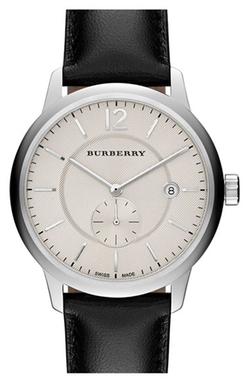 Textured Dial Watch by Burberry in The Good Wife