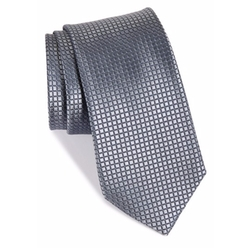 'Holiday Party' Tonal Grid Silk Tie by Nordstrom Men's Shop in Empire