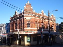 Surry Hills, Australia (Depicted As Yukon, Canada) by The Hopetoun Hotel (Depicted As Yukon Bar) in The Wolverine
