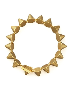 Small Cone Bracelet by Eddie Borgo	 in Rock The Kasbah