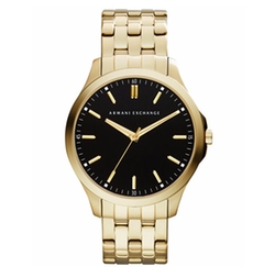 Gold-Tone Stainless Steel Bracelet Watch by Armani Exchange in Free Fire