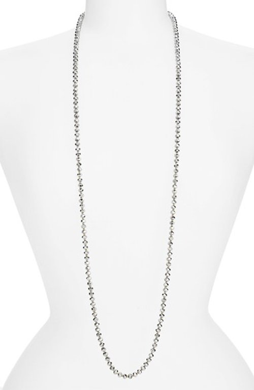 Crystal Beaded Long Necklace by Chan Luu in The DUFF