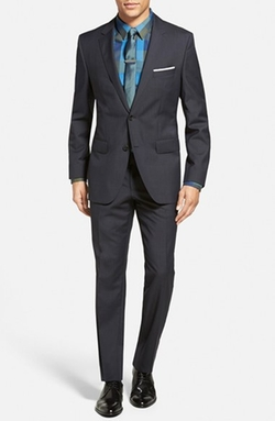 'James/Sharp' Trim Fit Wool Suit by Boss Hugo Boss in Sleeping with Other People
