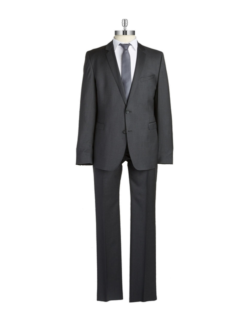 Solid Two-Piece Suit by Strellson in Elementary