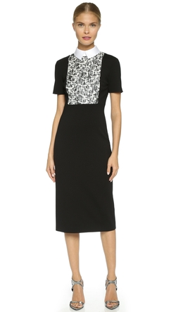 Collar & Bib Knit Dress by Jason Wu in The Good Wife