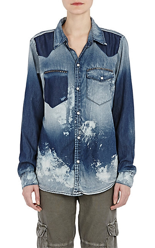 Distressed Leslie Shirt by NSF in Nashville